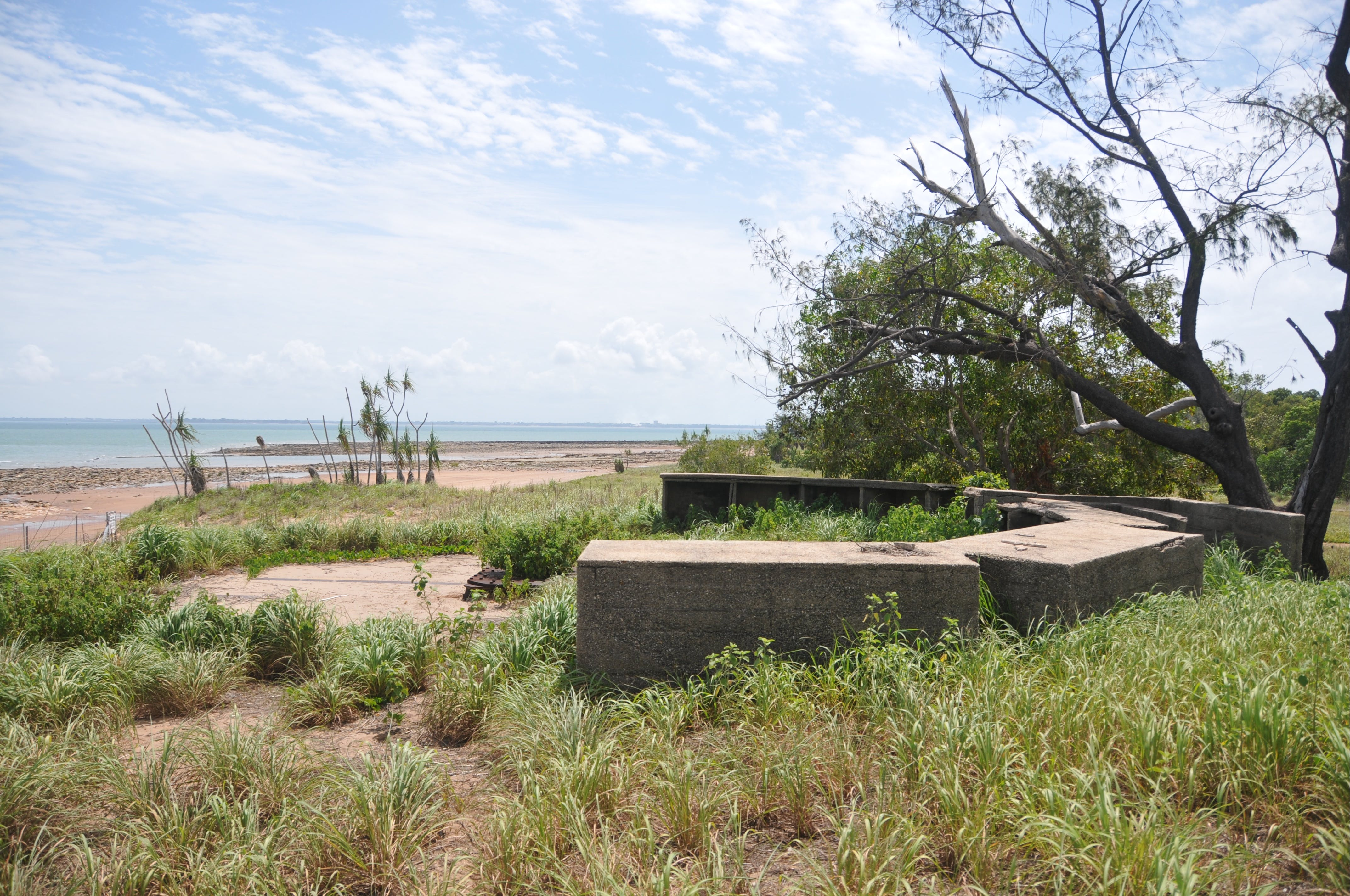 WWII Gun Emplacement Wagait Beach - Accommodation Sunshine Coast