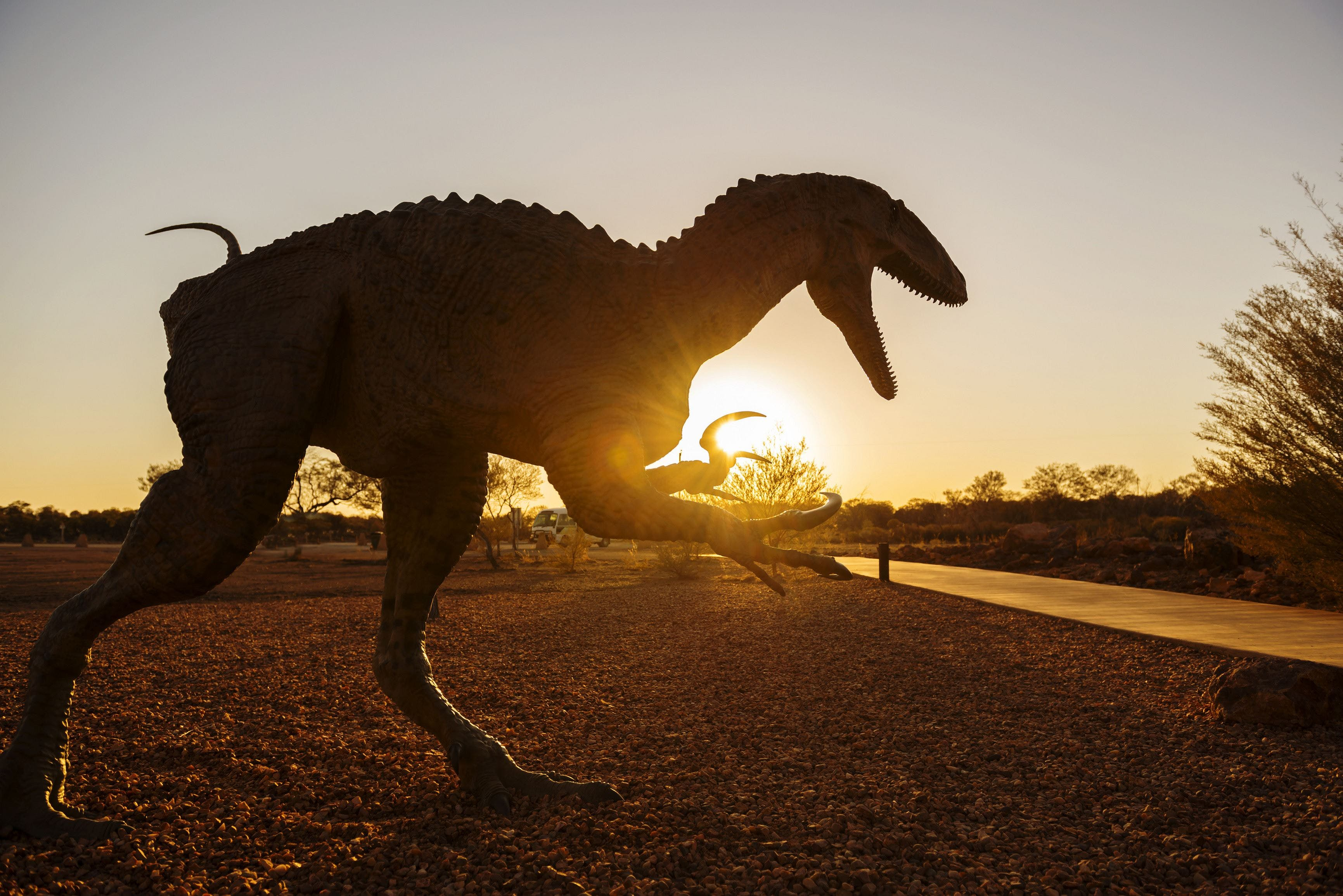 Australian Dinosaur Trail - Accommodation Sunshine Coast