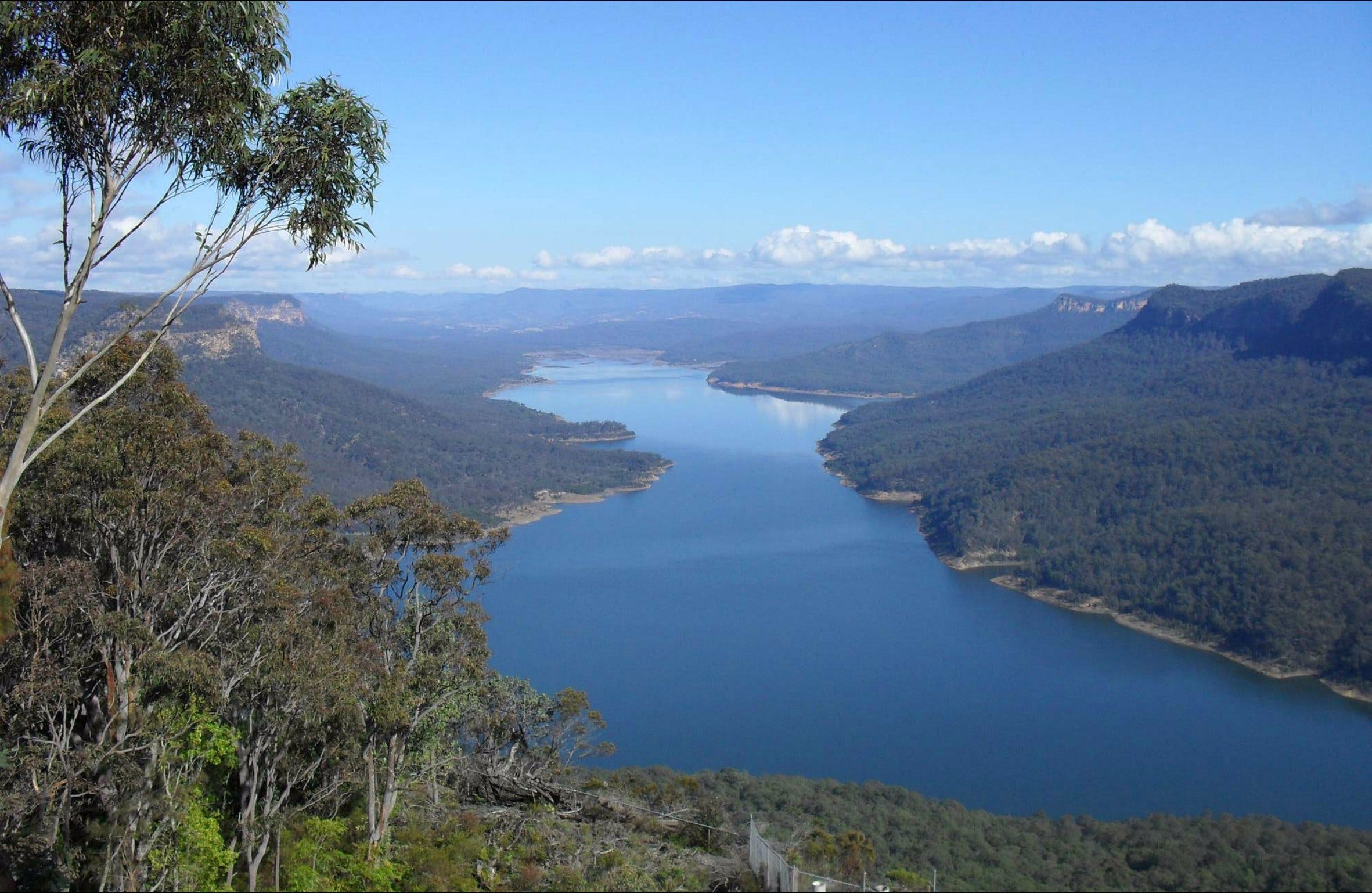 Burragorang lookout and picnic area - Accommodation Sunshine Coast
