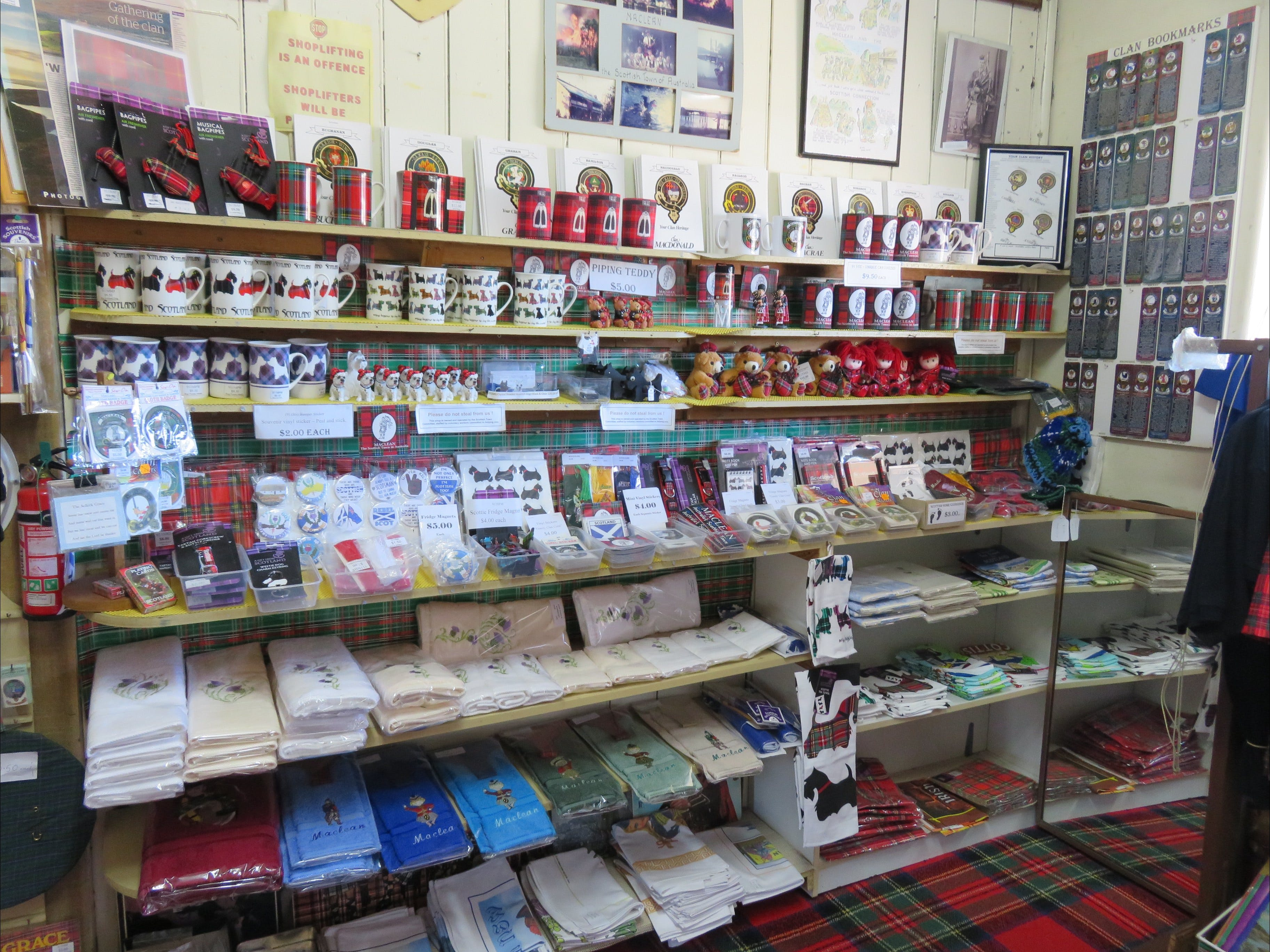 Maclean Scottish Shop - Accommodation Sunshine Coast