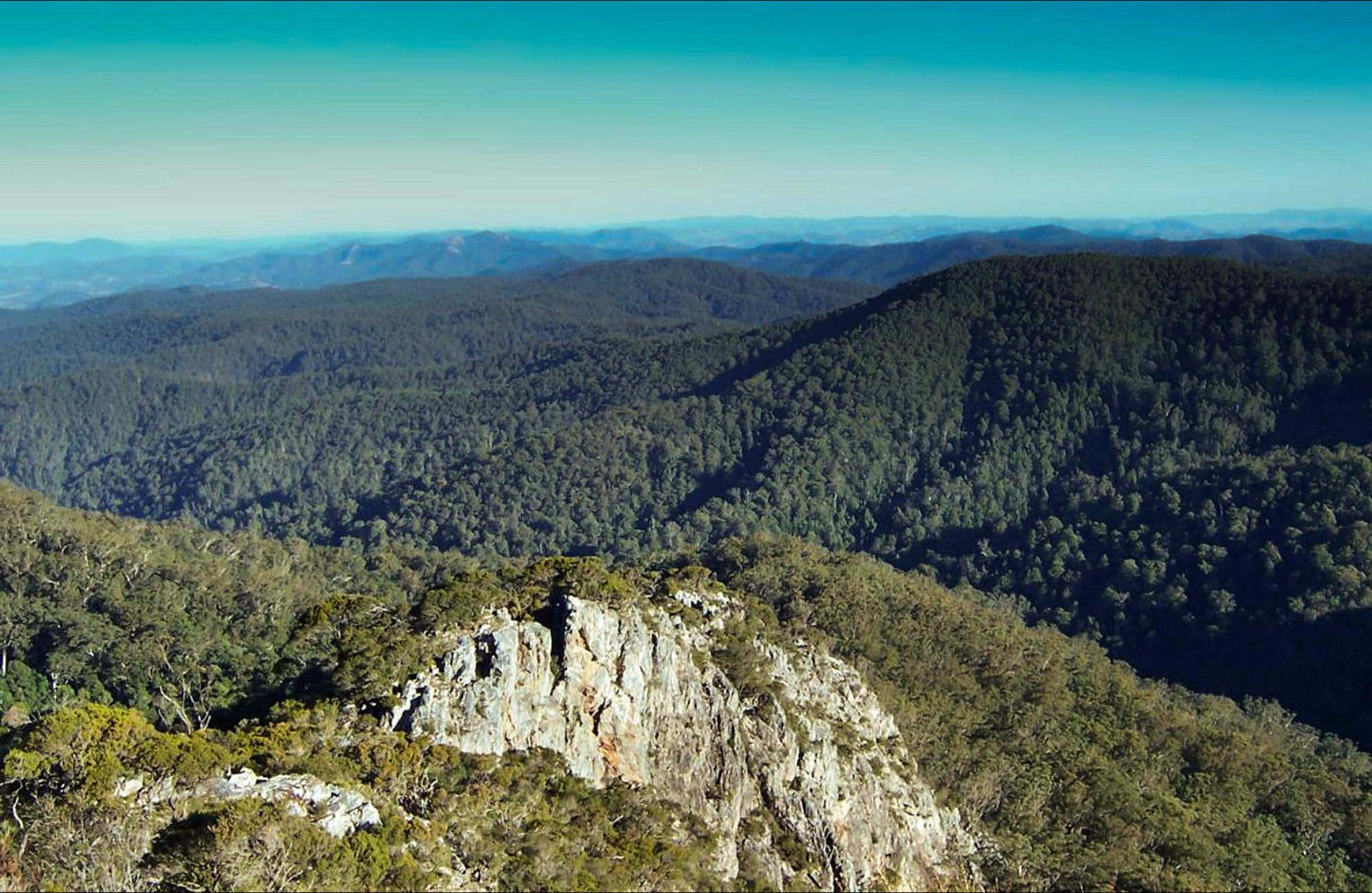 Rowleys Peak lookout - Accommodation Sunshine Coast