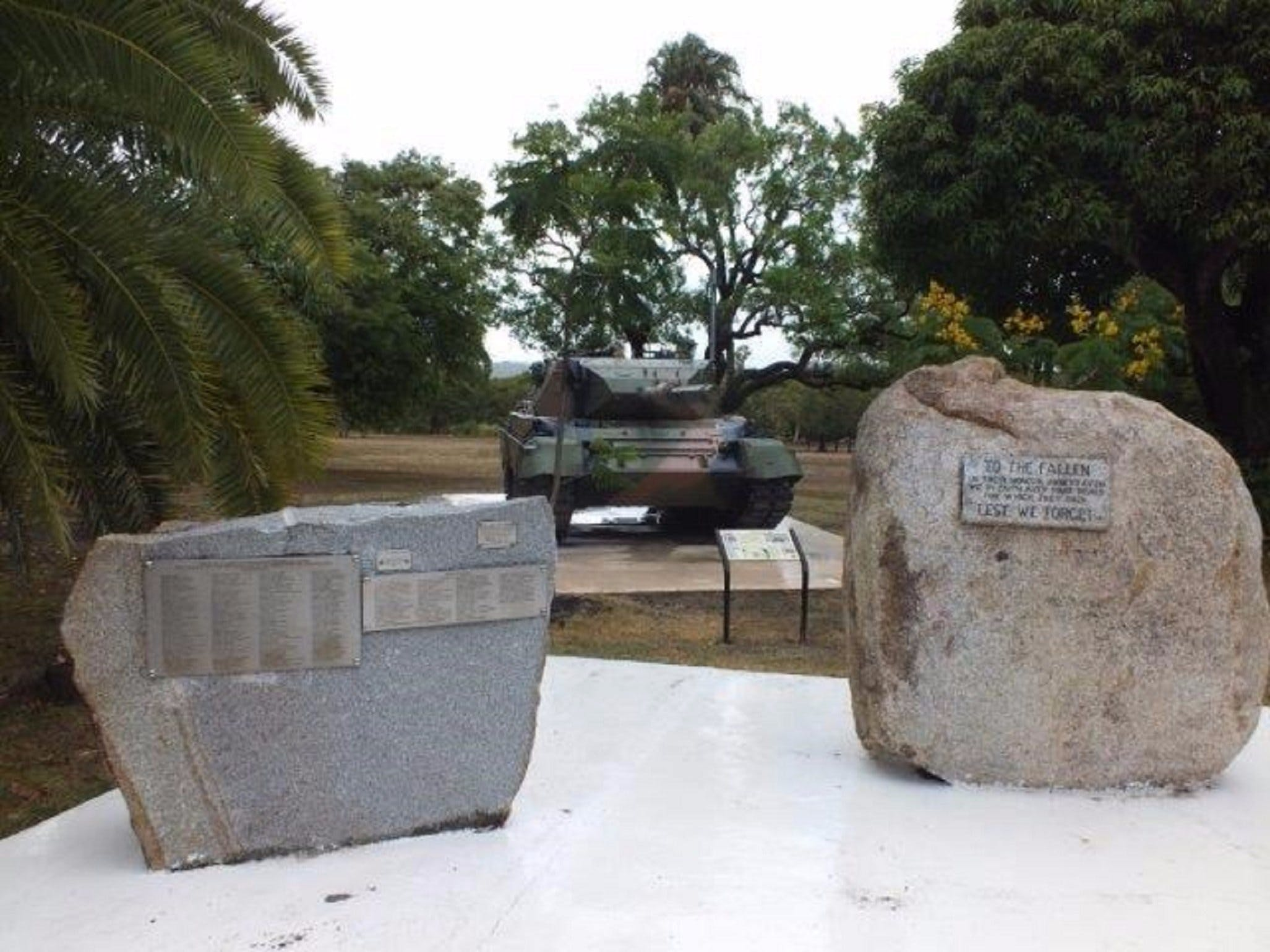 Cooktown War Memorial - Accommodation Sunshine Coast