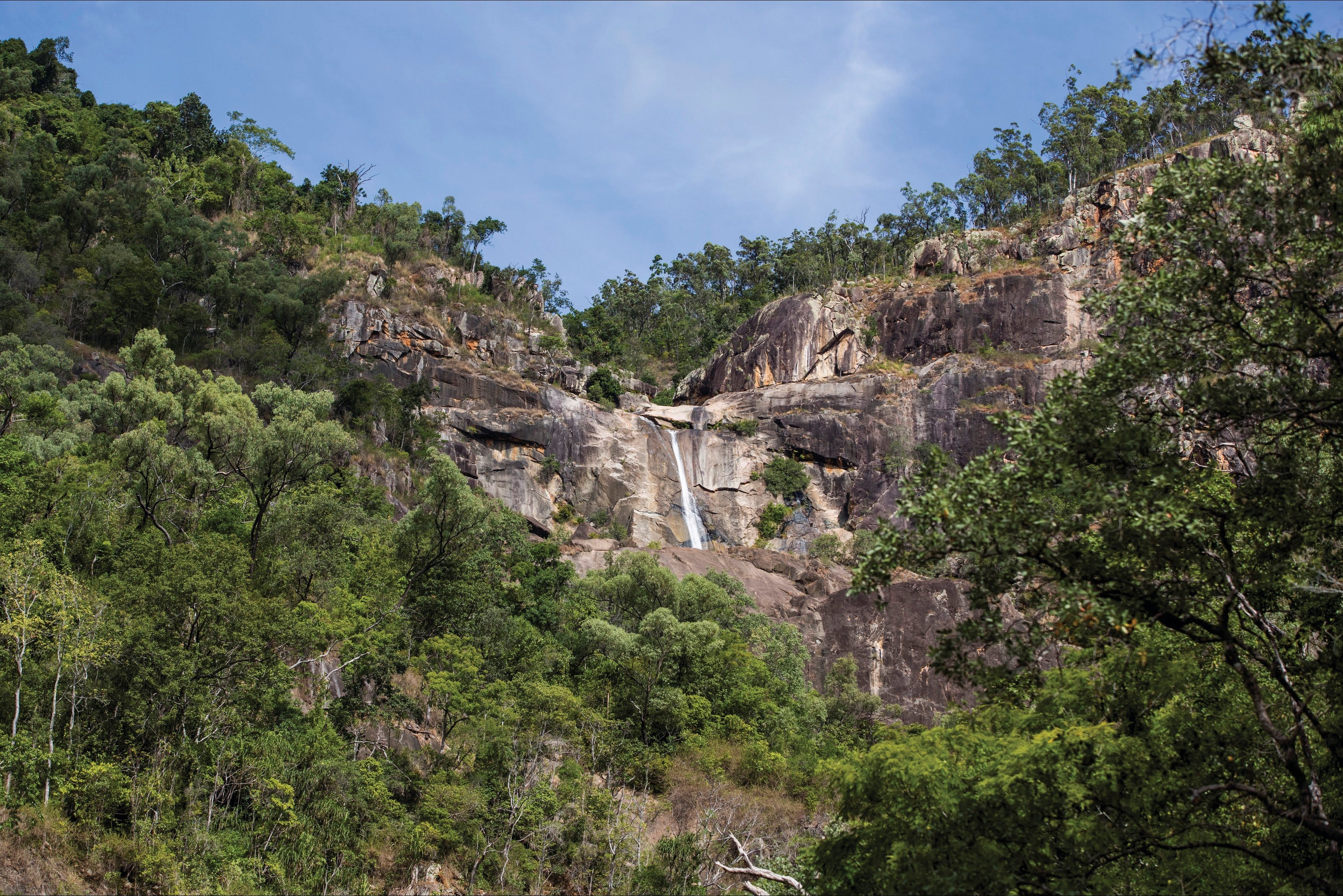 Jourama Falls Paluma Range National Park - Accommodation Sunshine Coast