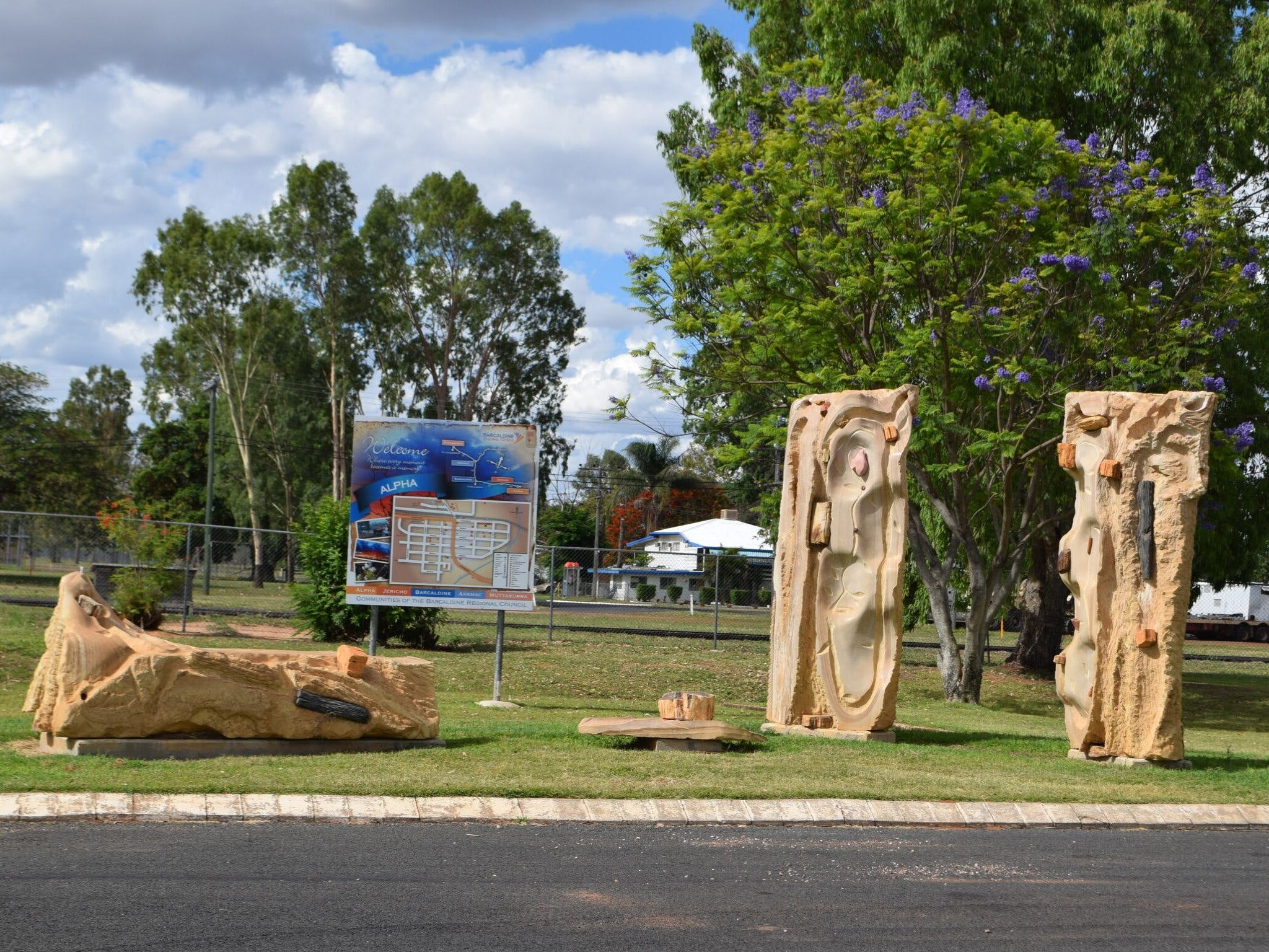 The Fossilised Forest Sculpture - Accommodation Sunshine Coast