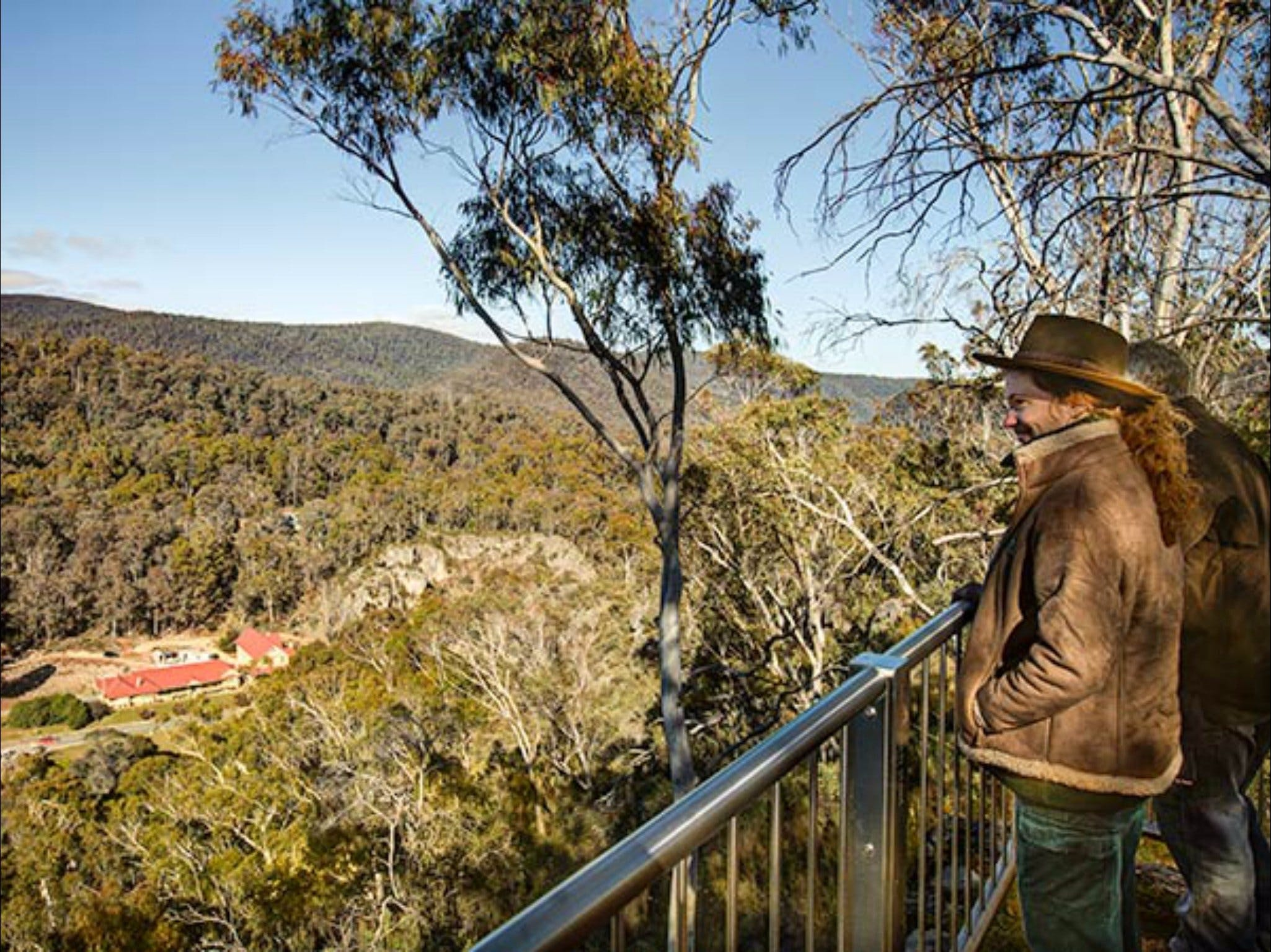 Yarrangobilly Caves  Bluff lookout walk - Accommodation Sunshine Coast