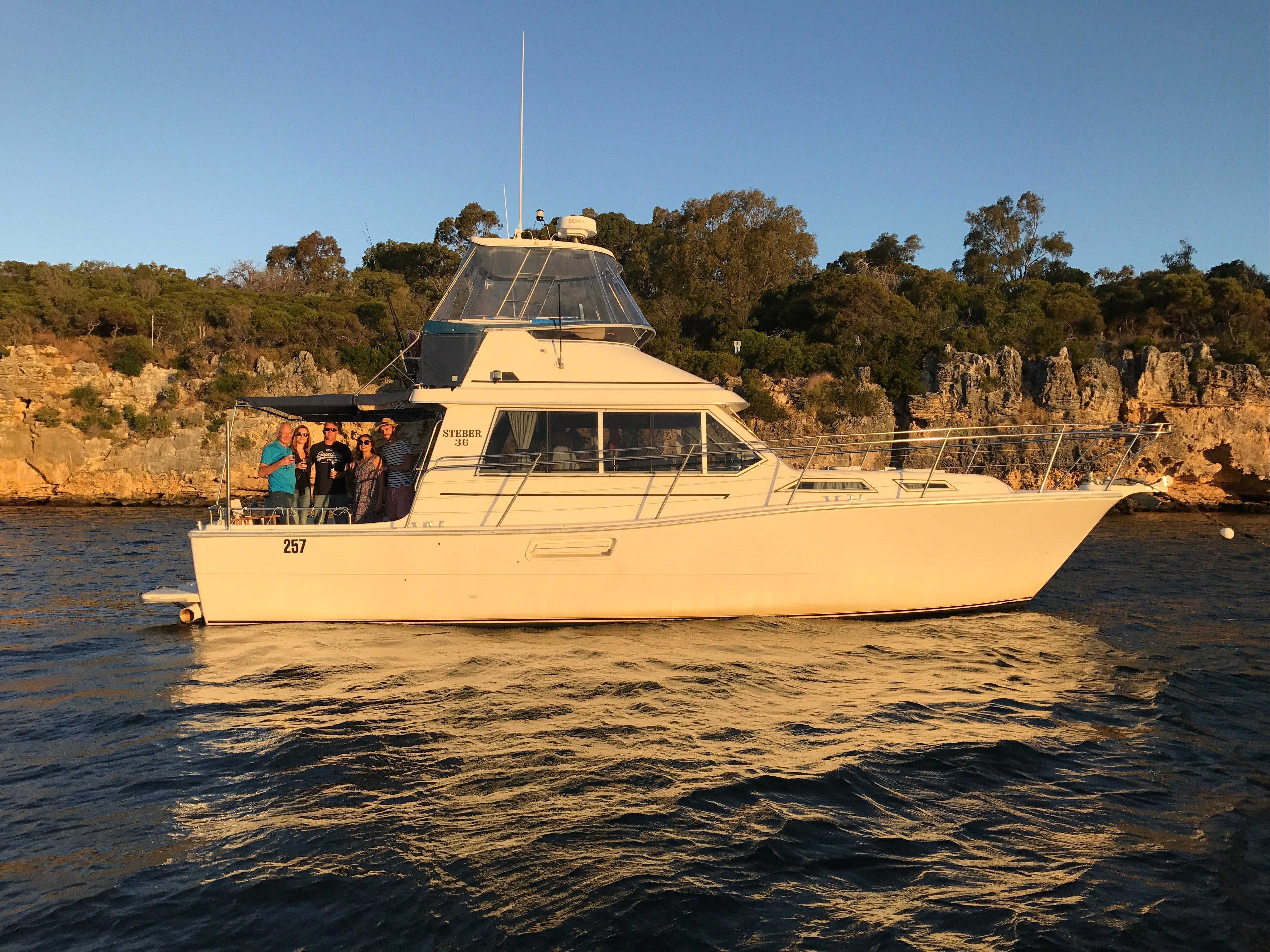Cruising the  Swan River in at Sunset with Boutique Cruise - Accommodation Sunshine Coast