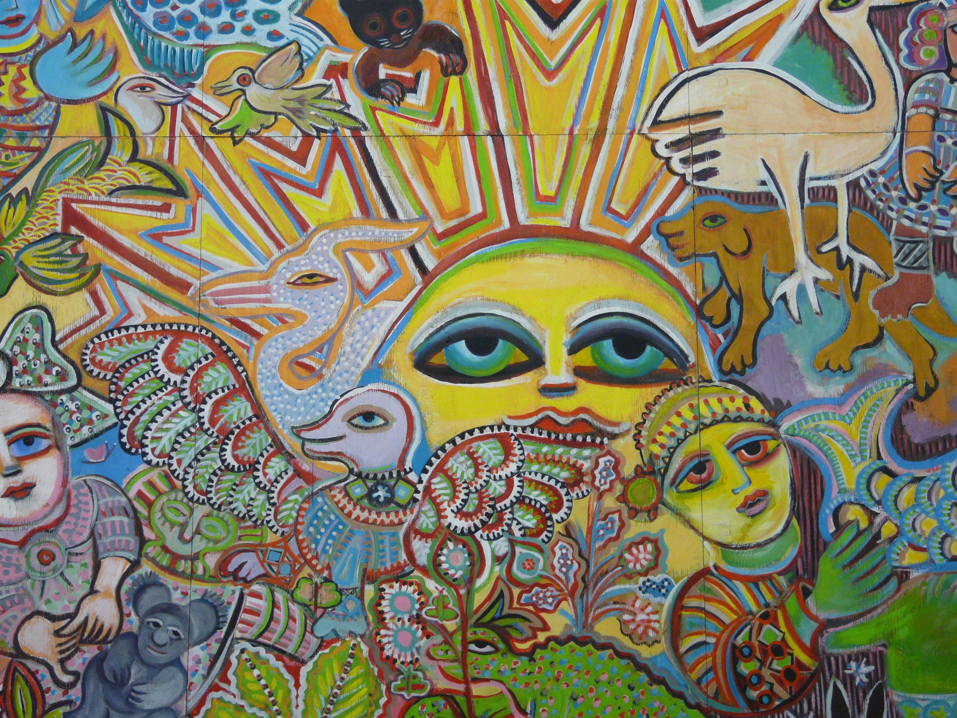 The Painting of Life by Mirka Mora - Accommodation Sunshine Coast