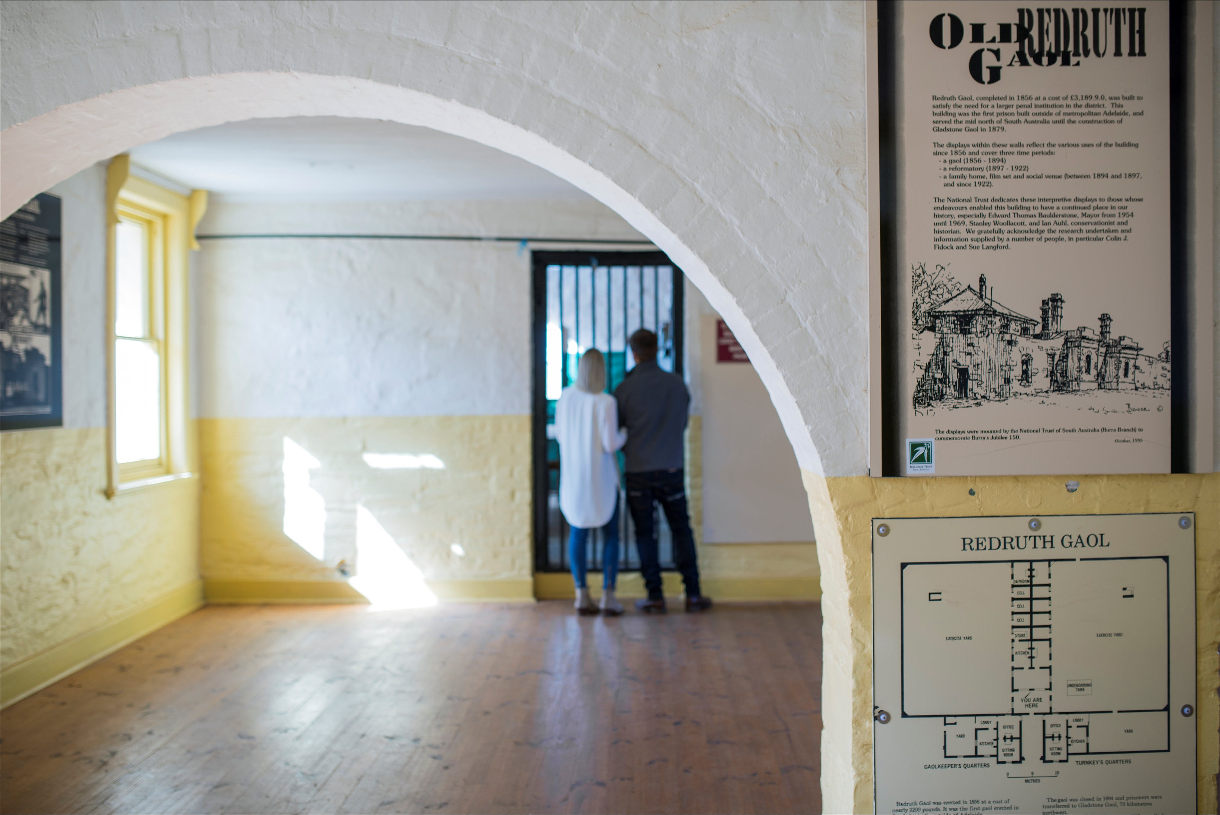 Redruth Gaol - Accommodation Sunshine Coast