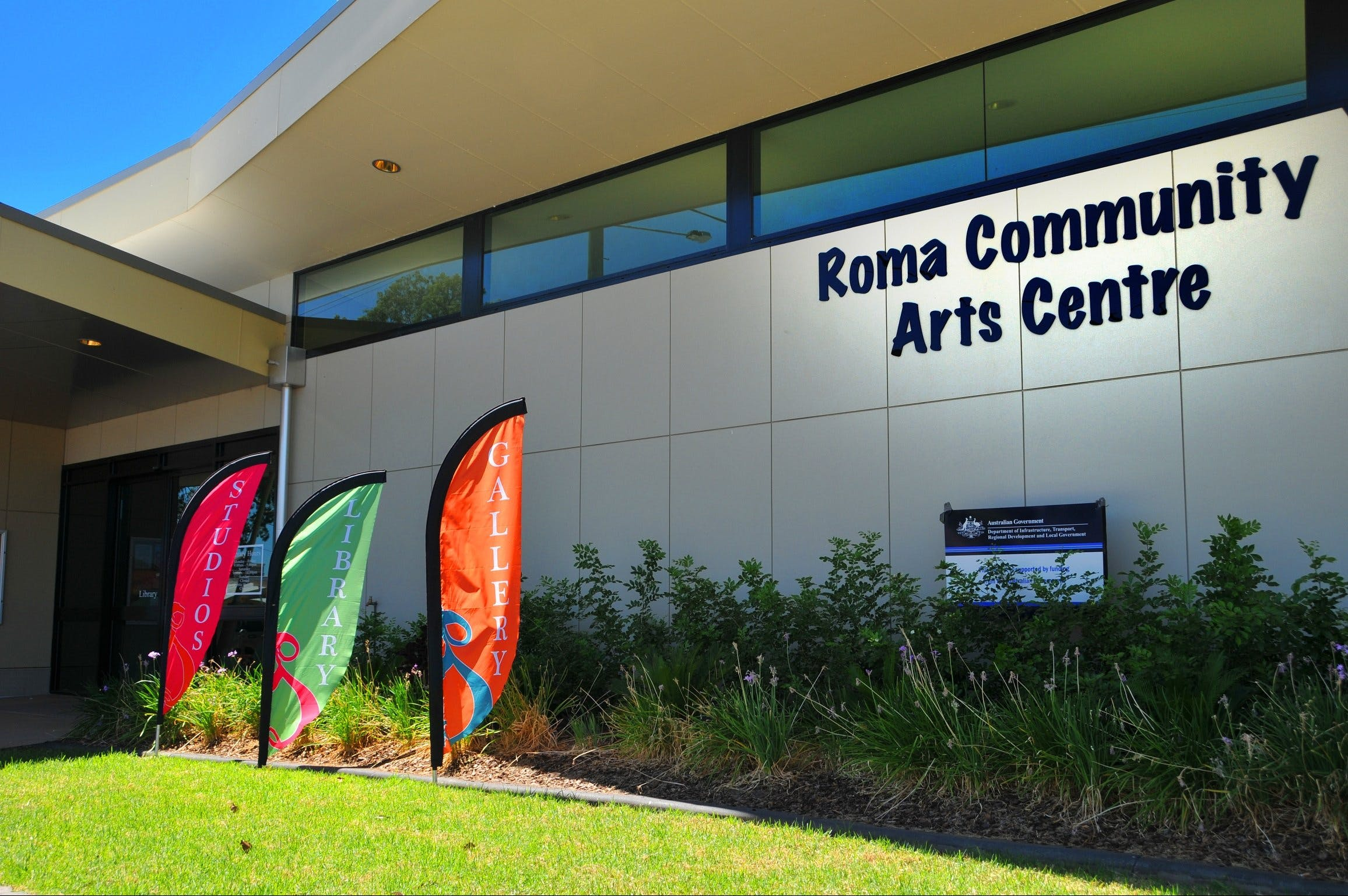Roma on Bungil Art Gallery and the Walk of Art - Accommodation Sunshine Coast