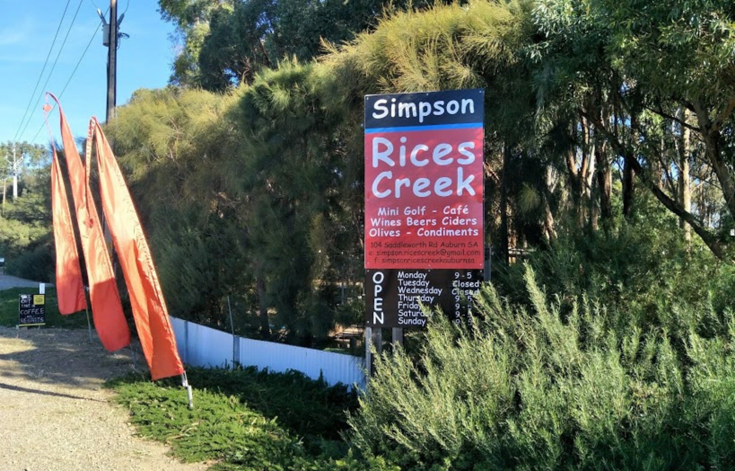 Simpson Rices Creek - Accommodation Sunshine Coast