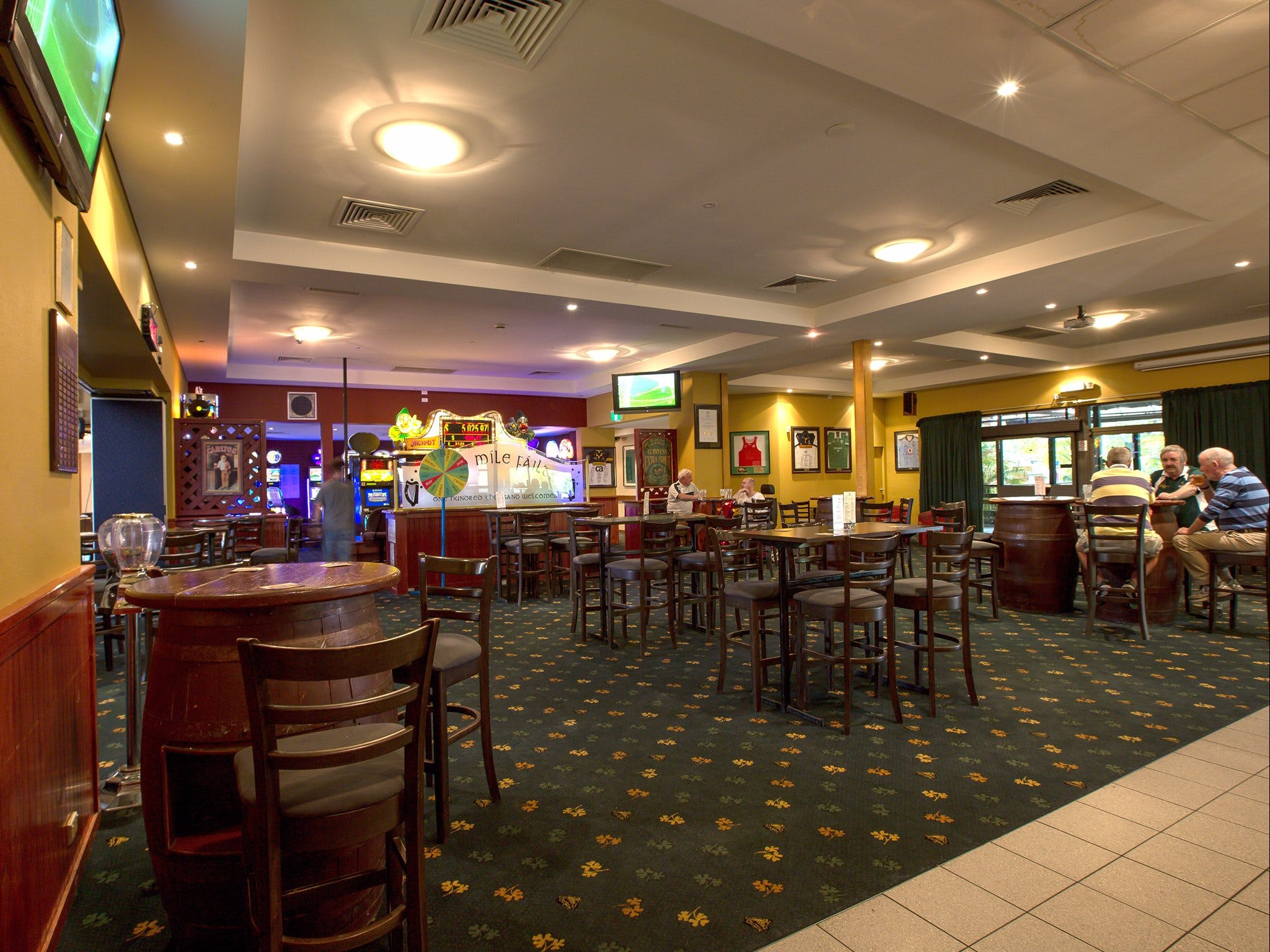 Canberra Irish Club - Accommodation Sunshine Coast