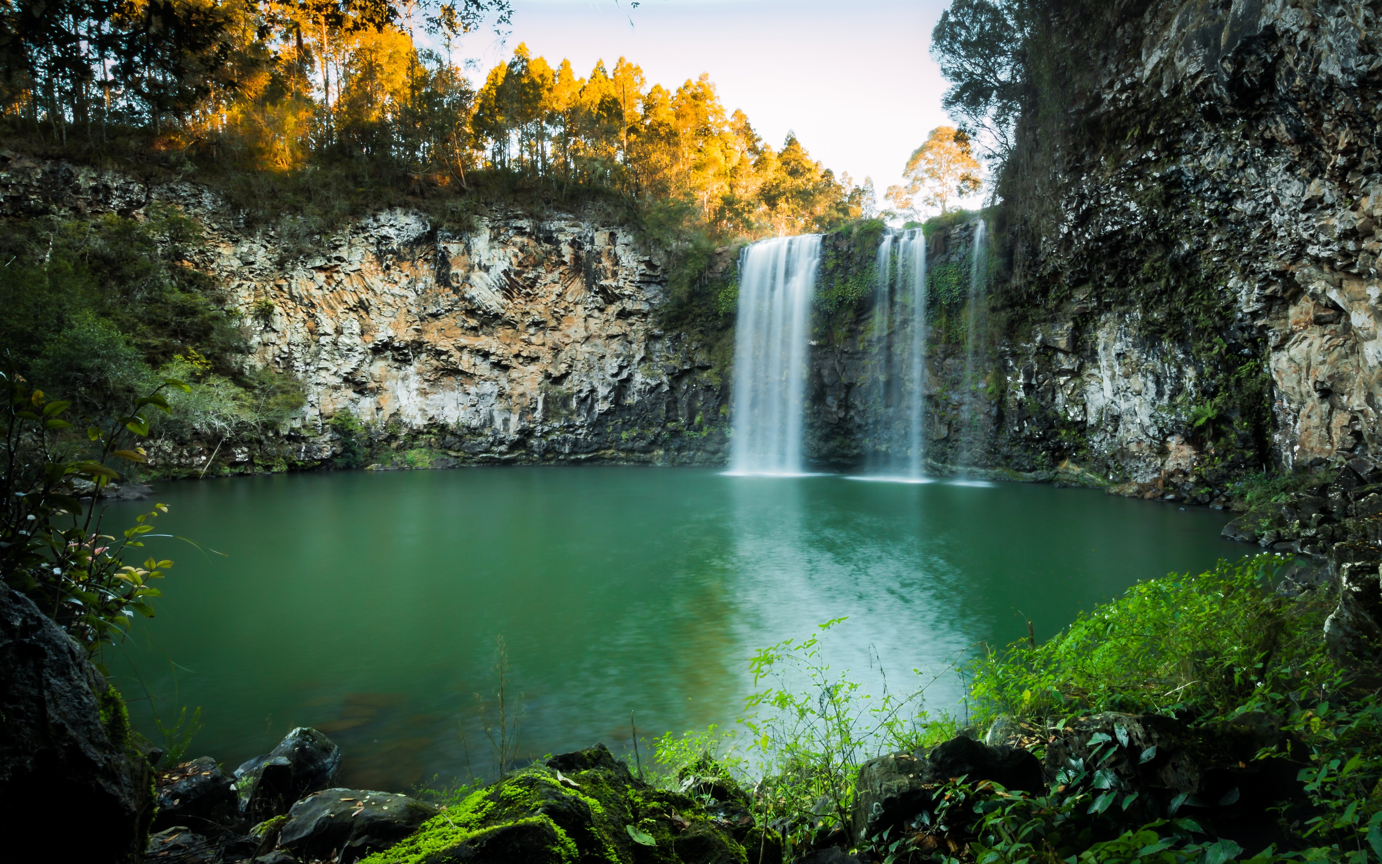 Dangar Falls - Accommodation Sunshine Coast