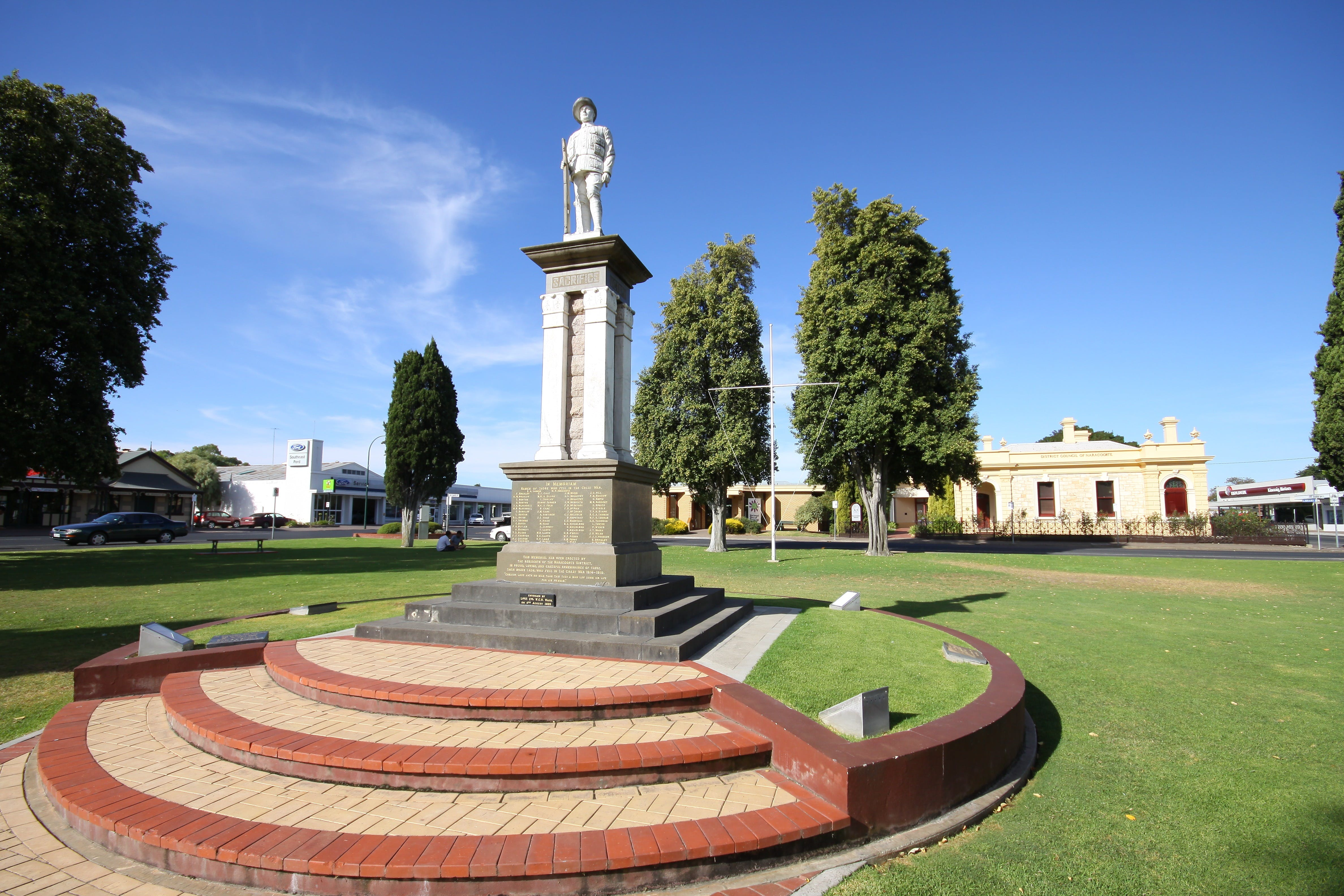 Naracoorte Town Square - Accommodation Sunshine Coast