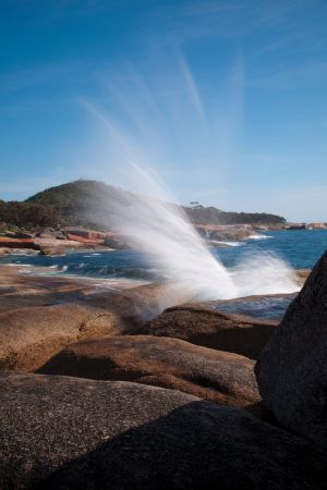 Bicheno Blowhole - Accommodation Sunshine Coast