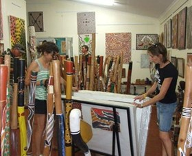 Top Didj and Art Gallery - Accommodation Sunshine Coast