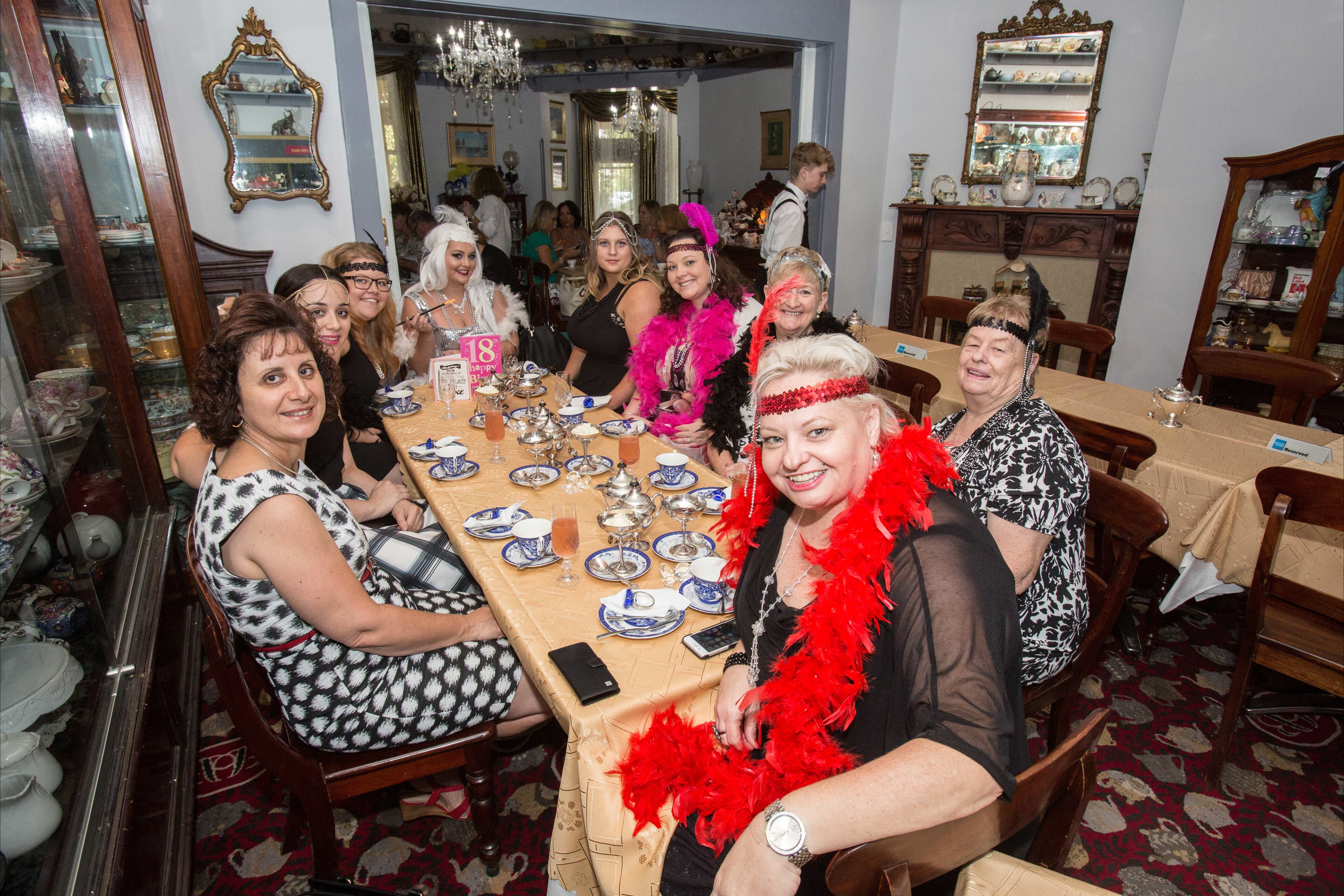 Bygone Beauty's Traditional High Tea Supreme for Good Food Month. - Accommodation Sunshine Coast