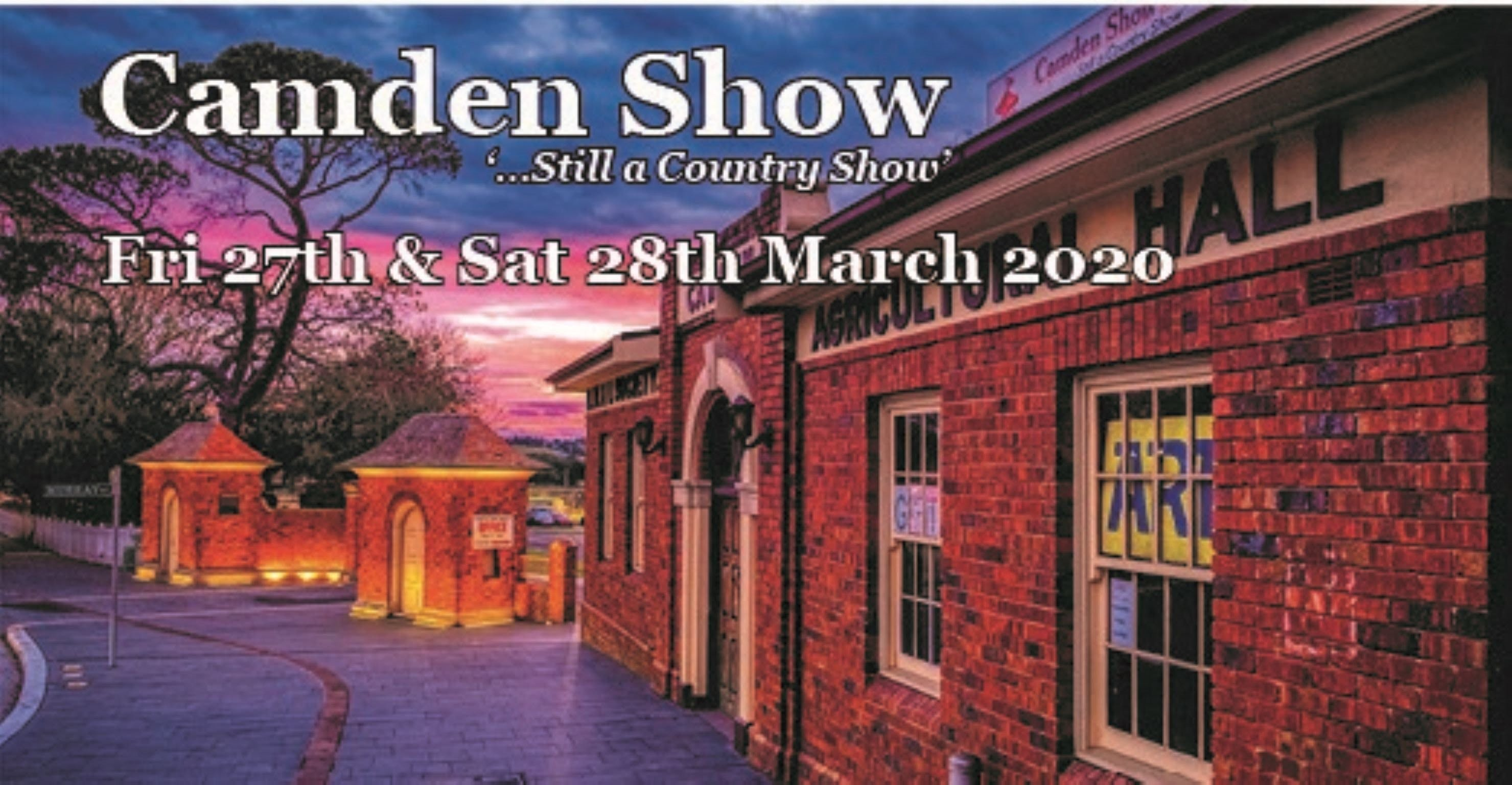 Camden Show - Accommodation Sunshine Coast