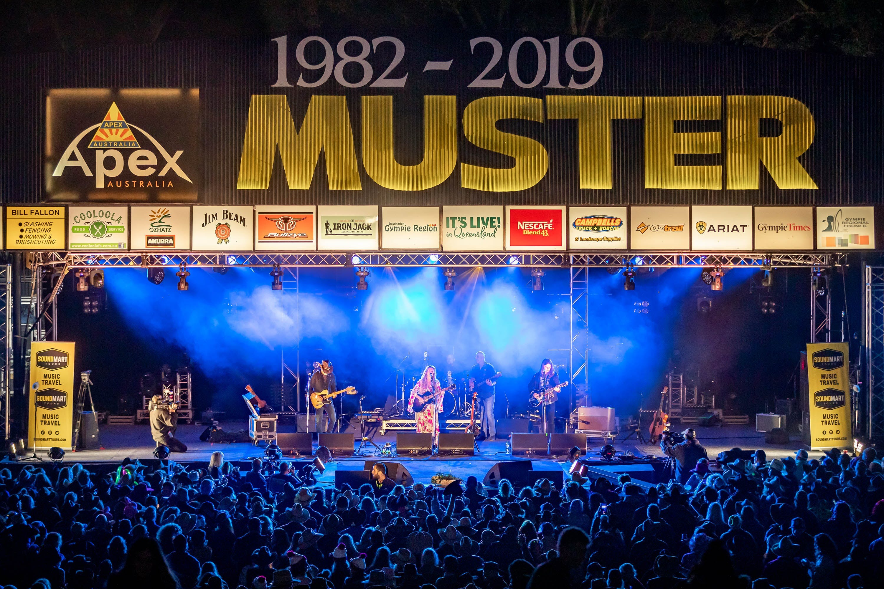 Gympie Music Muster - Accommodation Sunshine Coast