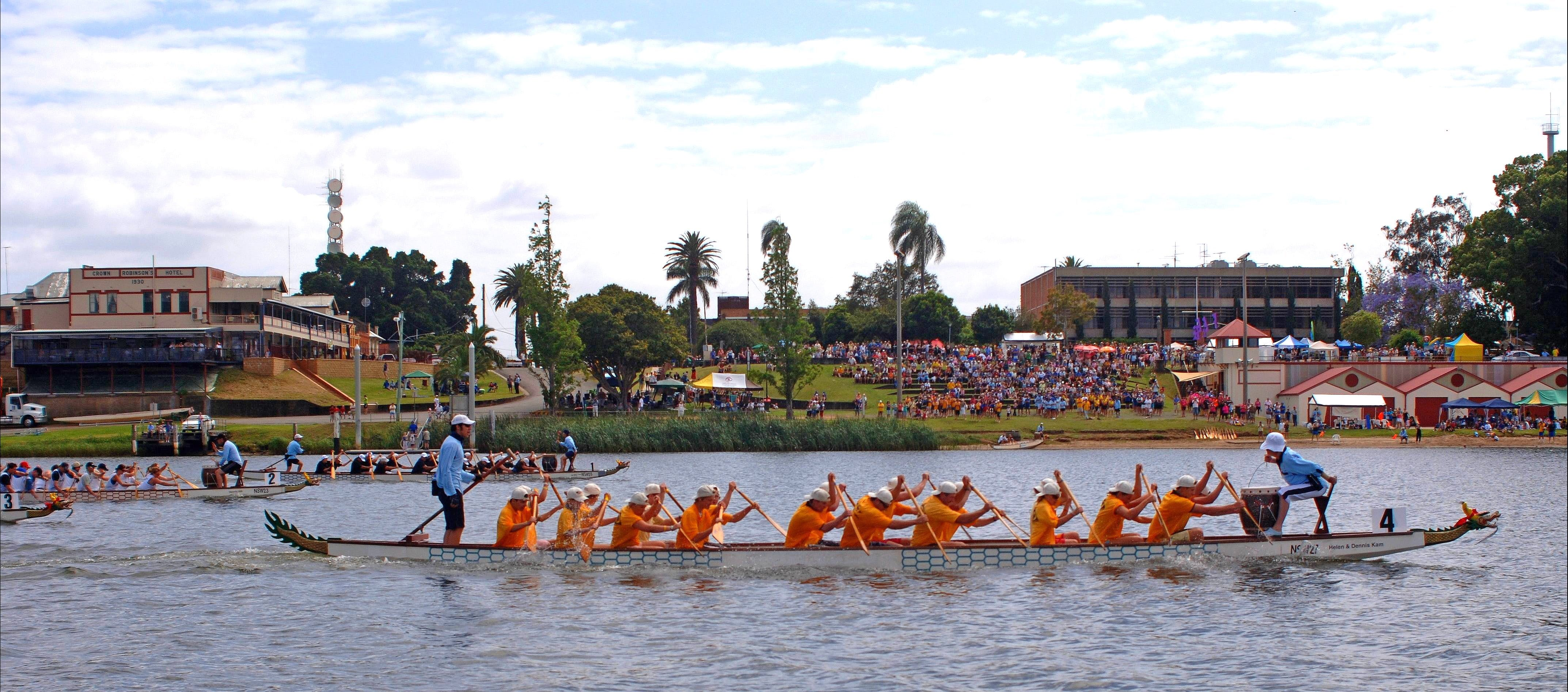 Jacaranda Dragon Boat Races - Accommodation Sunshine Coast