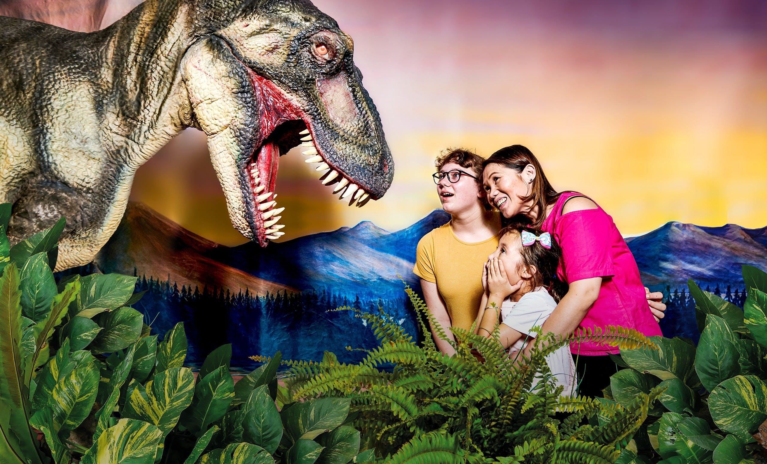 Meet the Dinosaurs at Scitech - Accommodation Sunshine Coast