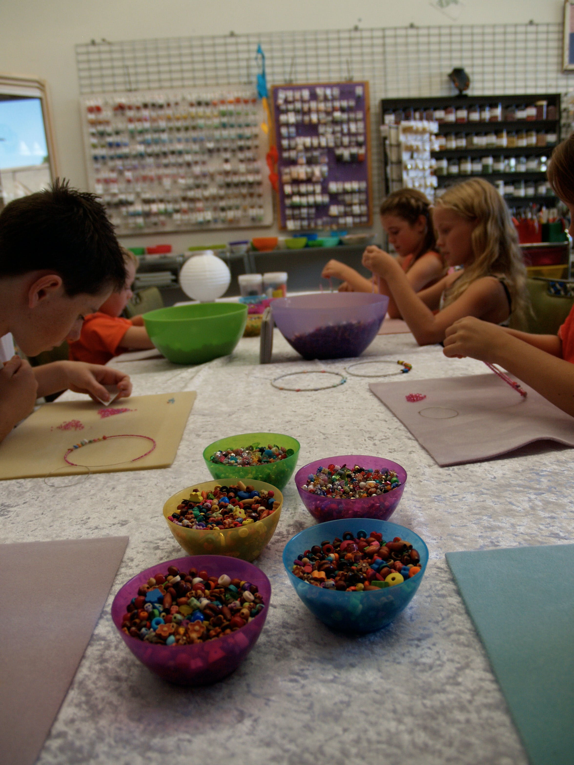 School Holiday One Hour Beading Workshops - Accommodation Sunshine Coast