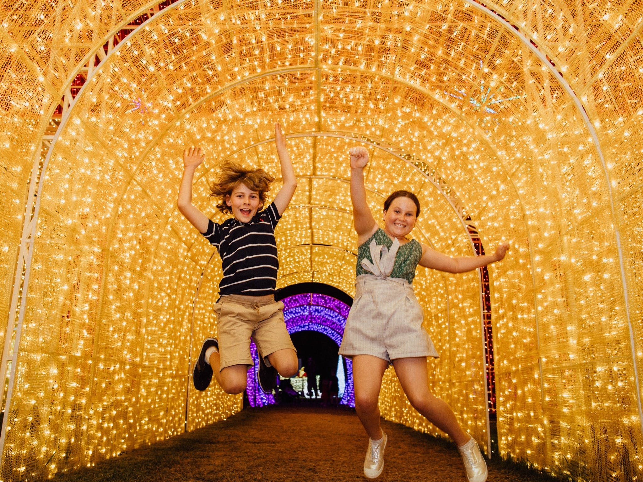 Christmas Lights Spectacular New Year's Eve at Hunter Valley Gardens - Accommodation Sunshine Coast