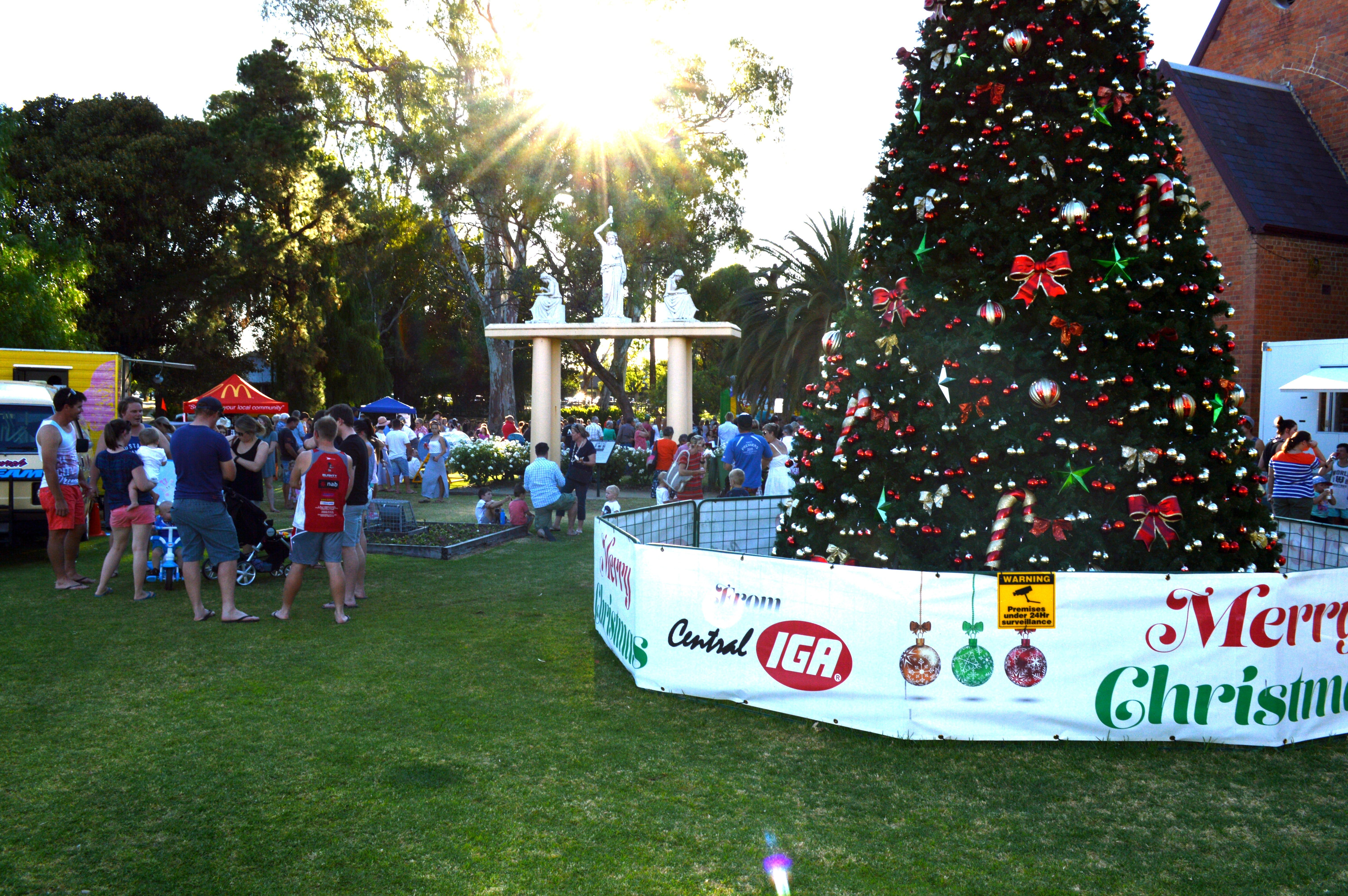 Community Christmas Party and Carols by Candlelight - Accommodation Sunshine Coast