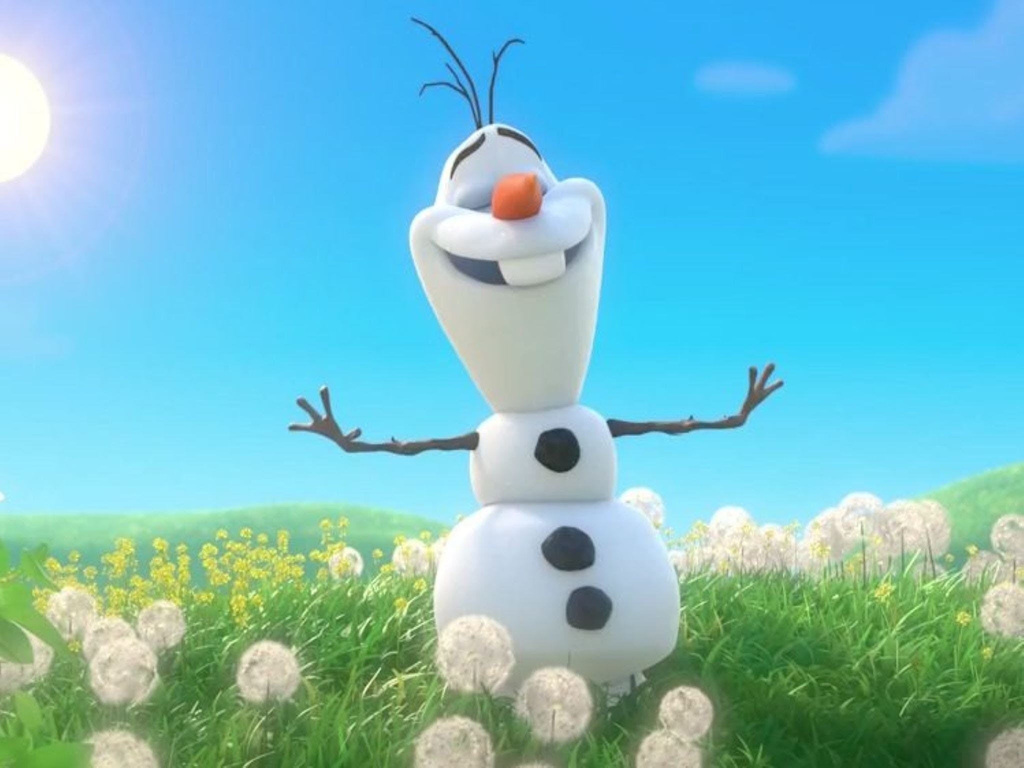Meet Olaf from Frozen - Accommodation Sunshine Coast