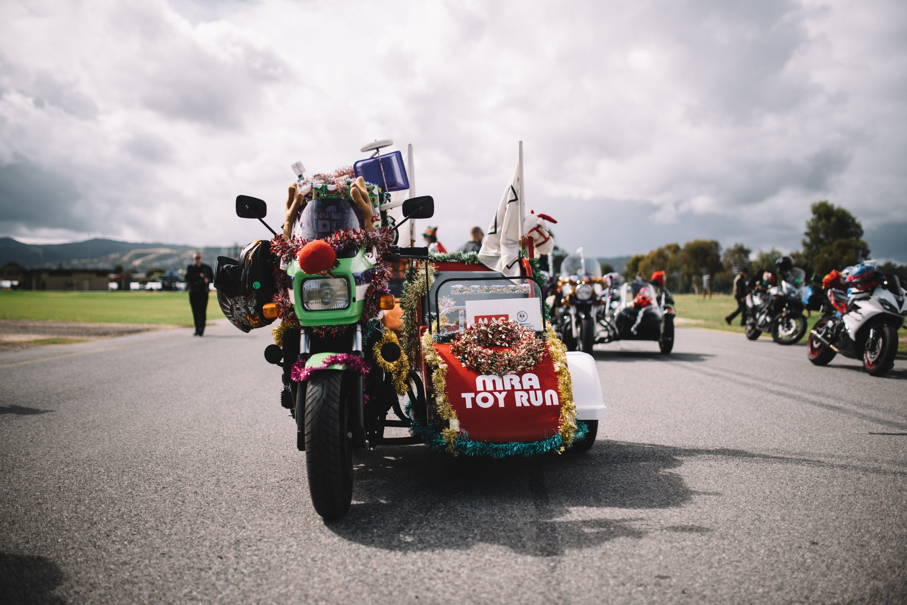 Motorcycle Riders' Association of South Australia Toy Run - Accommodation Sunshine Coast