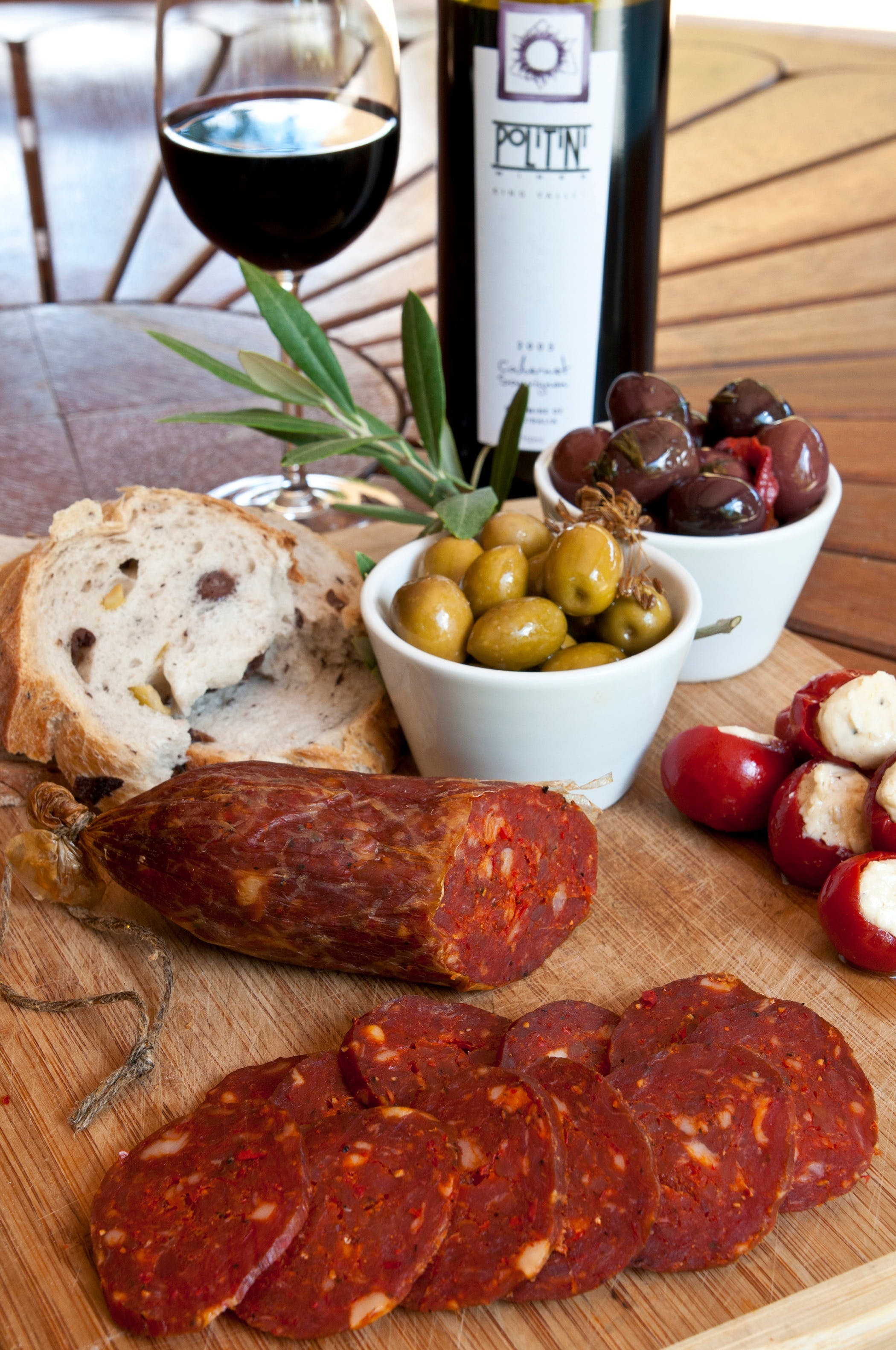 Salami and Salsicce Making classes at Politini Wines - Accommodation Sunshine Coast