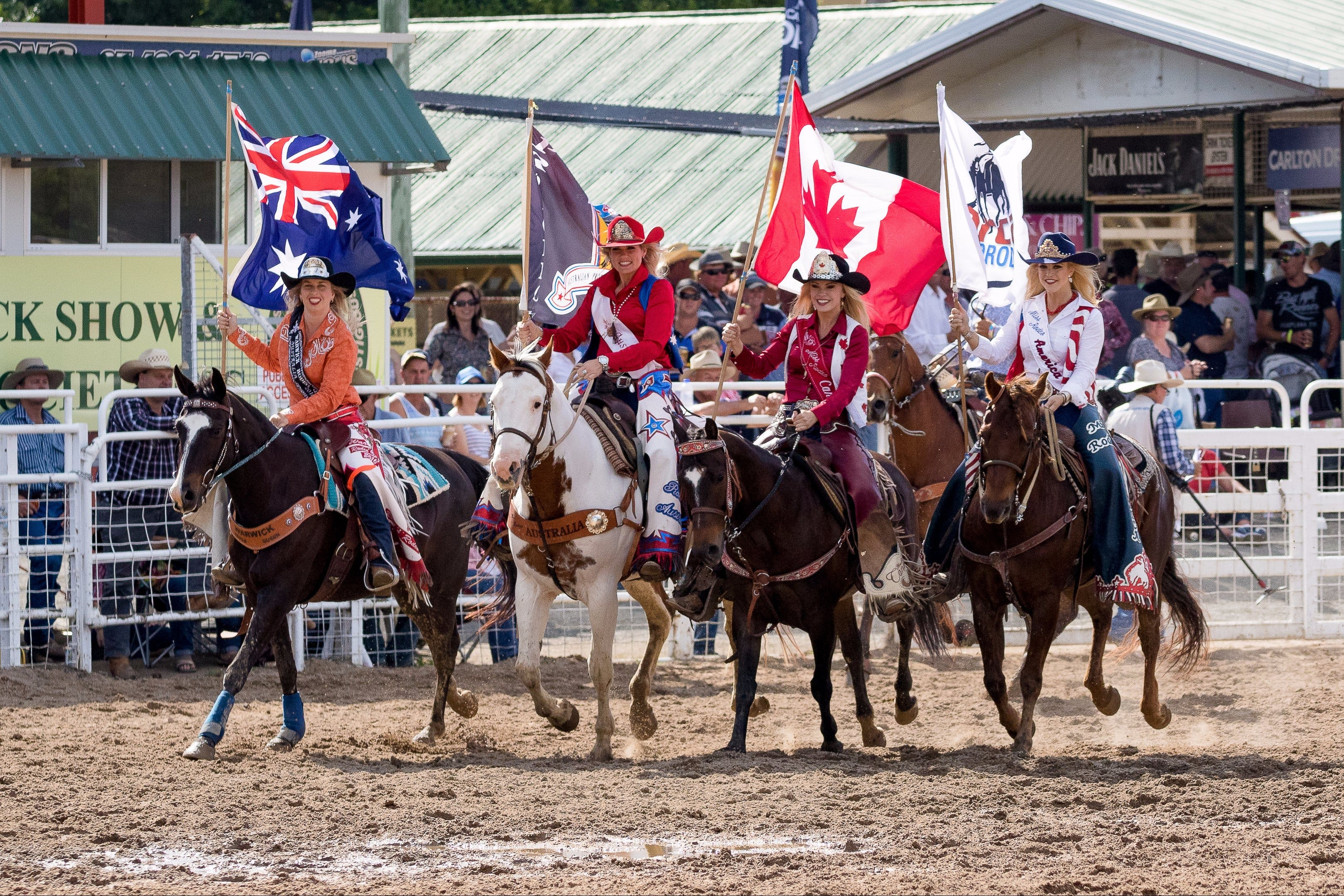 Warwick Rodeo National APRA National Finals and Warwick Gold Cup Campdraft - Accommodation Sunshine Coast