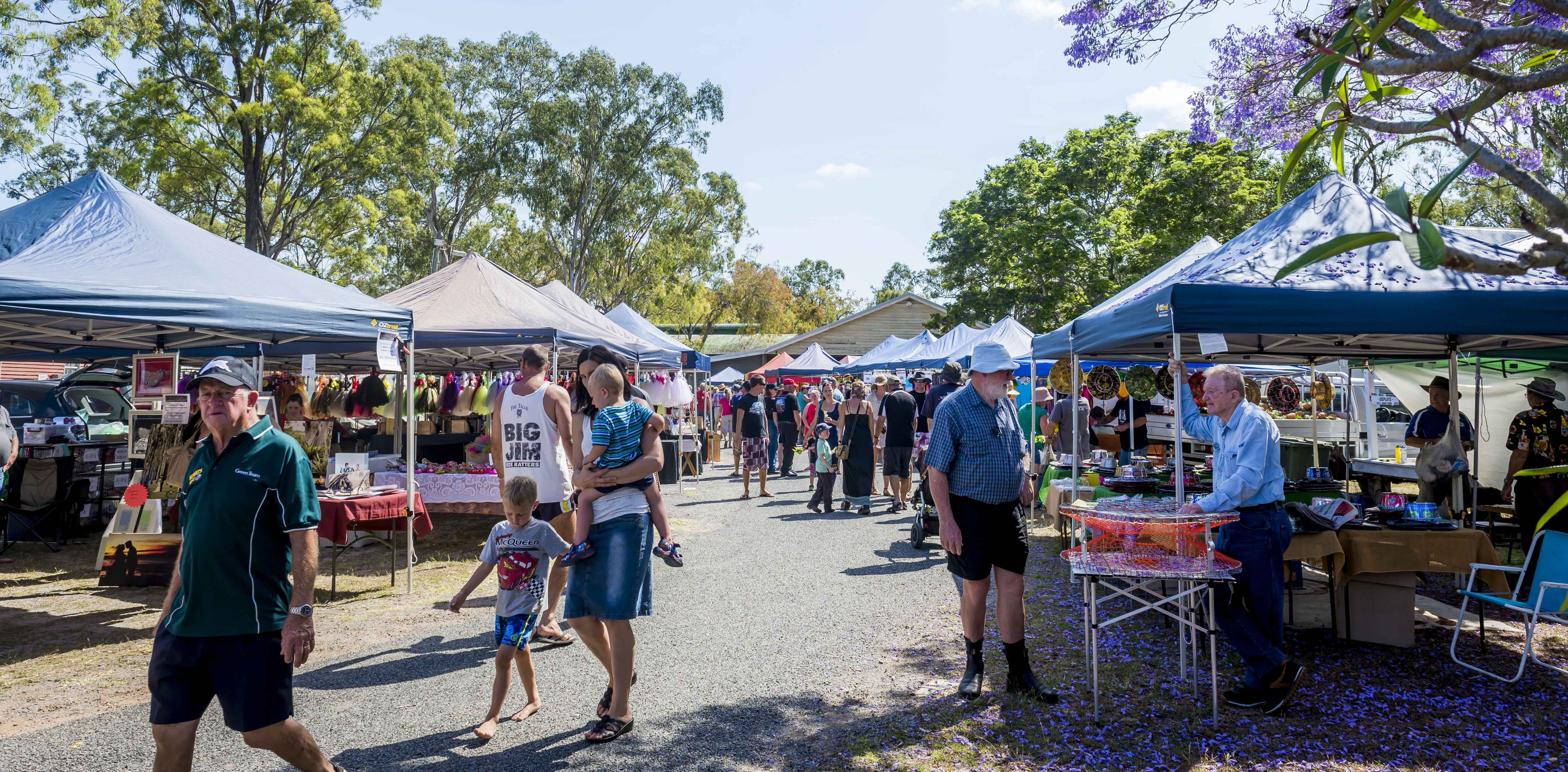 Calliope Historical Village Markets - Accommodation Sunshine Coast