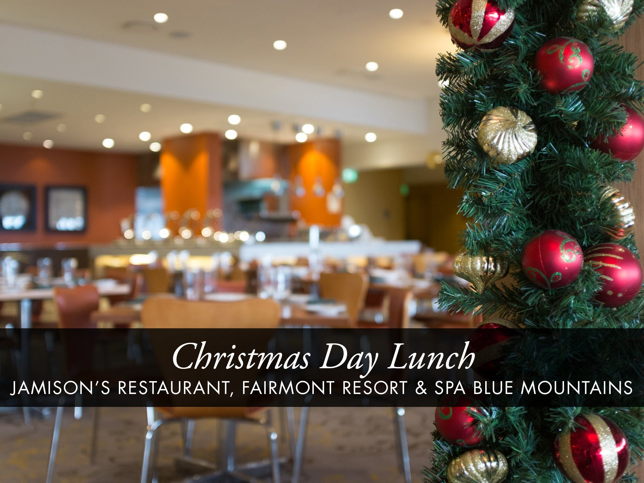 Christmas Day Buffet Lunch at Jamison's Restaurant - Accommodation Sunshine Coast