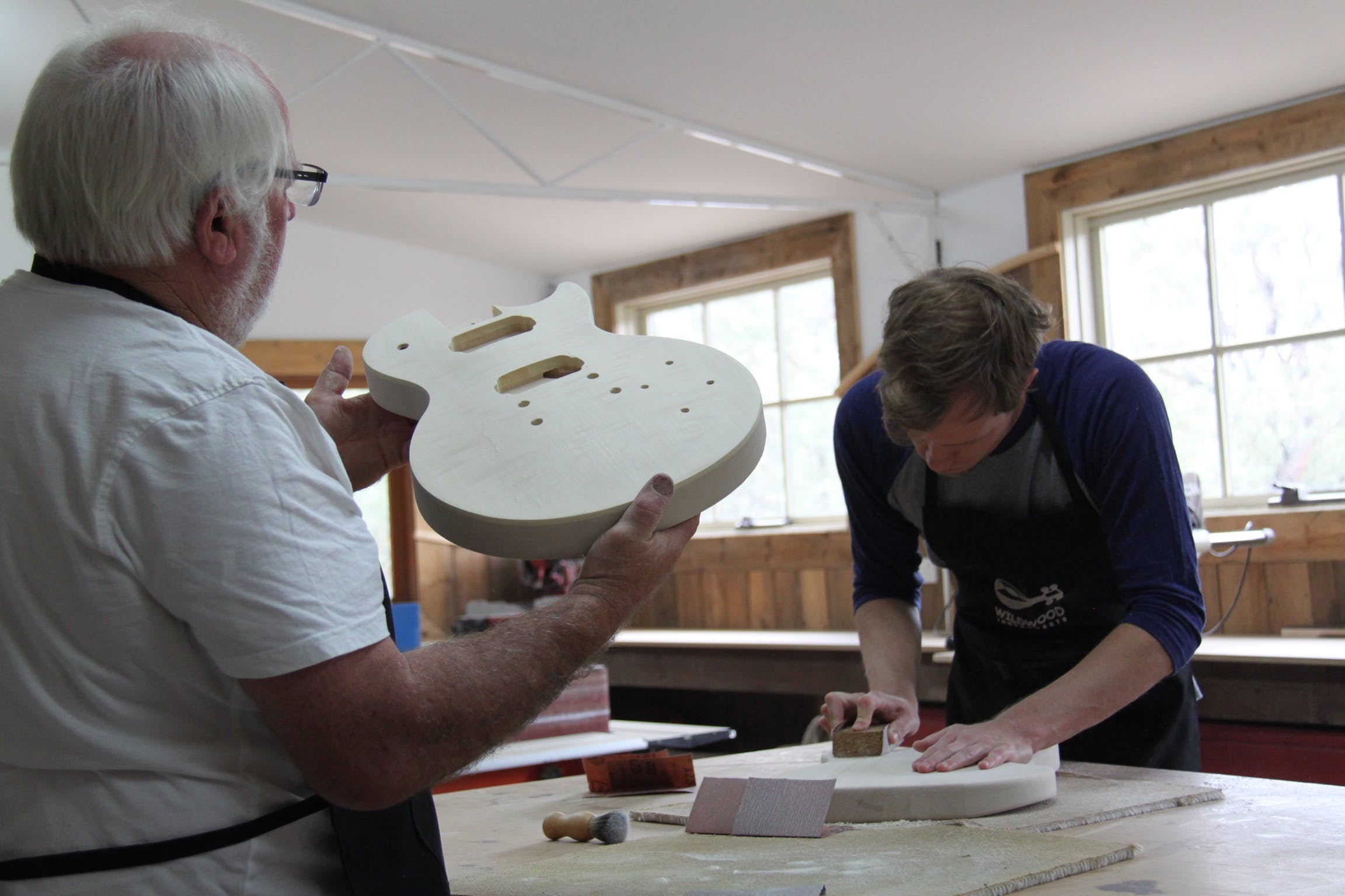 Electric Guitar Making Courses - Accommodation Sunshine Coast