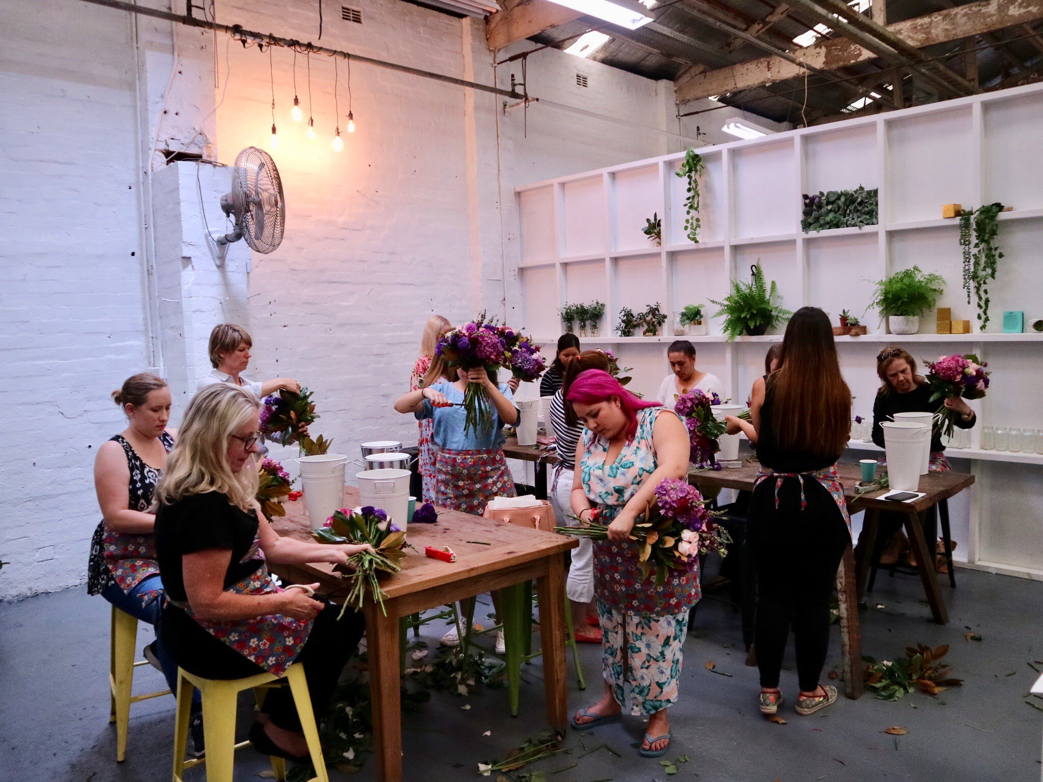 Fun Floral workshops for beginners - Accommodation Sunshine Coast