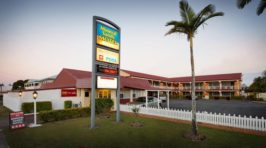 Mineral Sands Motel - Accommodation Sunshine Coast